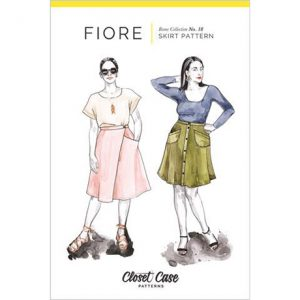 FIORE SKIRT SEWING PATTERN OPTION FOR WRAP AND POCKETS