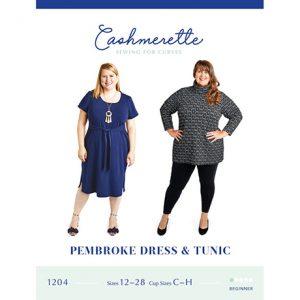 Pembroke dress and tunic sewing pattern